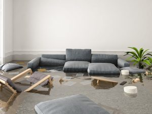 how to clean up after a flood